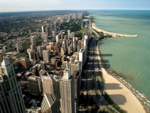 Beautiful Chicago & Lake Michigan